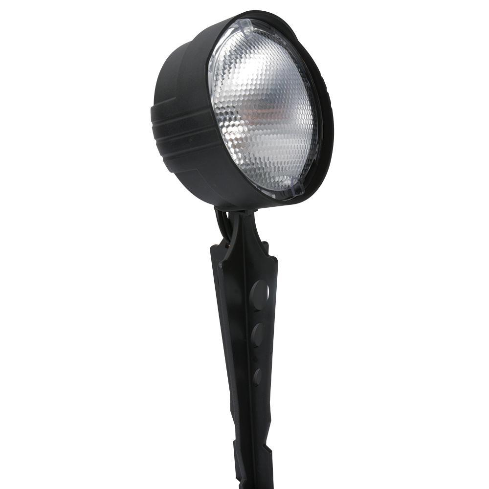 Paradise Low-Voltage 1-Light 4-Watt Black Outdoor