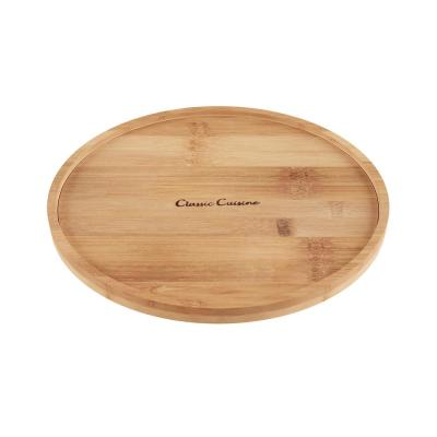 10 in. Bamboo Lazy Susan Turntable