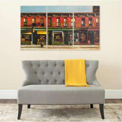 "34 in. x 20 in. ""Main Street"" Wall Art"