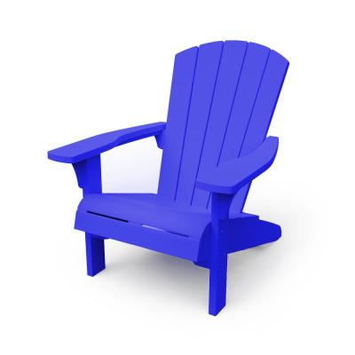 Troy Blue Resin Adirondack Chair