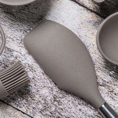 Studio 12.5 in. Silicone and Stainless Steel Spatula