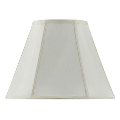 20 in. Egg Shell Vertical Piped Basic Empire Shade