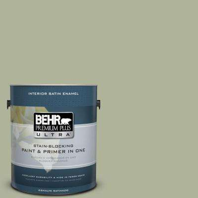 Home Decorators Collection 1 gal. #HDC-CT-28 Cottage Hill Satin Enamel Interior Paint and Primer in One