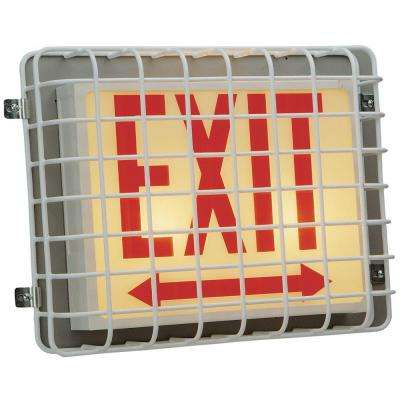 Damage Stopper Exit Sign