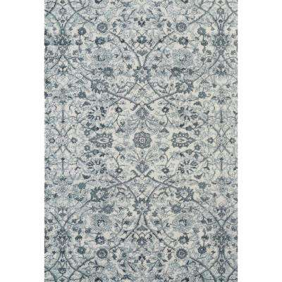 Alexis Light Blue 4 ft. x 6 ft. Rectangle Area Rug