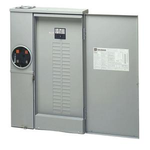 200 Amp 40 Space Circuit Combination Meter Box And Distribution Panel