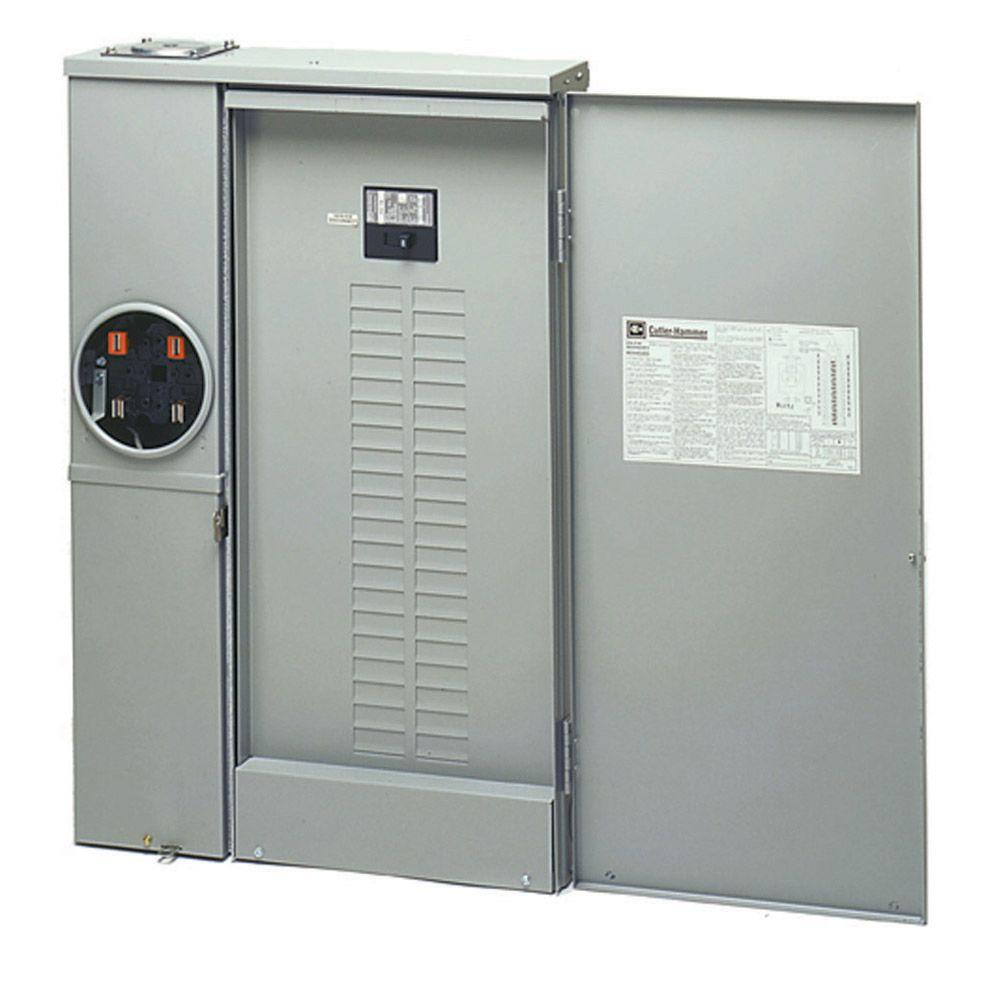 Eaton 200 amp 40 space circuit euserc br type main breaker for Best electrical panel for house