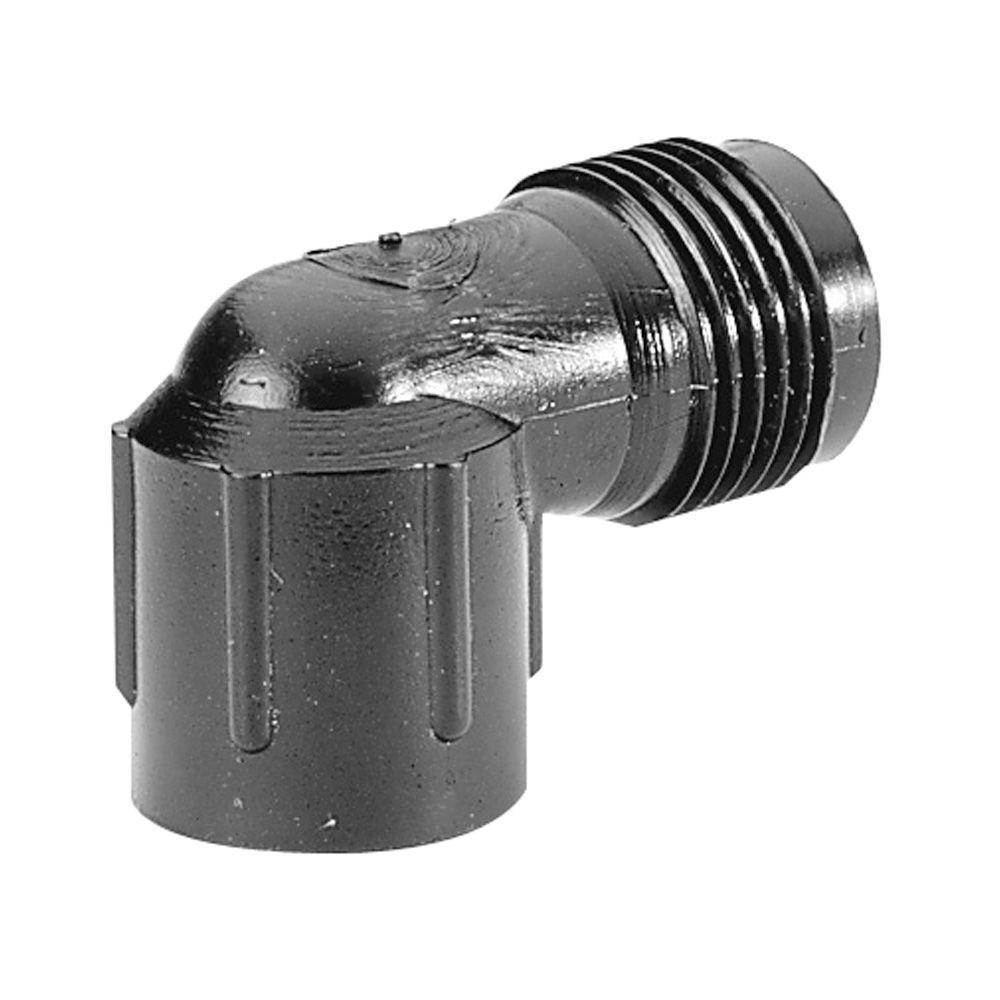 1/2 in. PVC Pipe Thread x Hose Thread Conversion Elbow