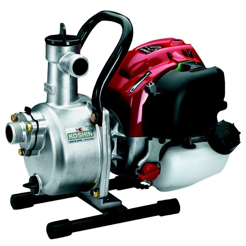 Koshin 1 in 1 hp centrifugal pump with honda engine seh for Honda motor water pump