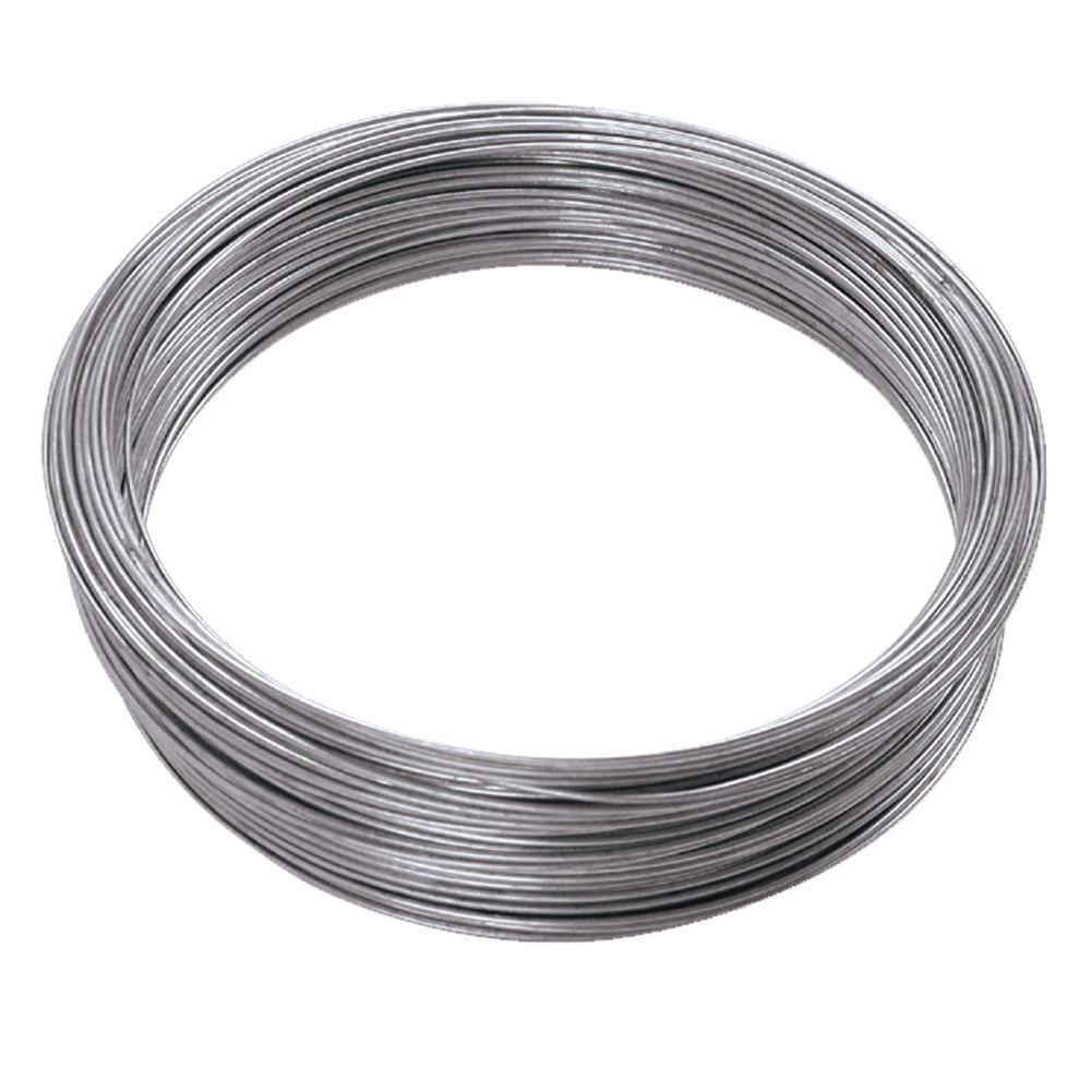 Ook 200 Ft 55 Lb 16 Gauge Galvanized Steel Wire 50143 The Home Depot