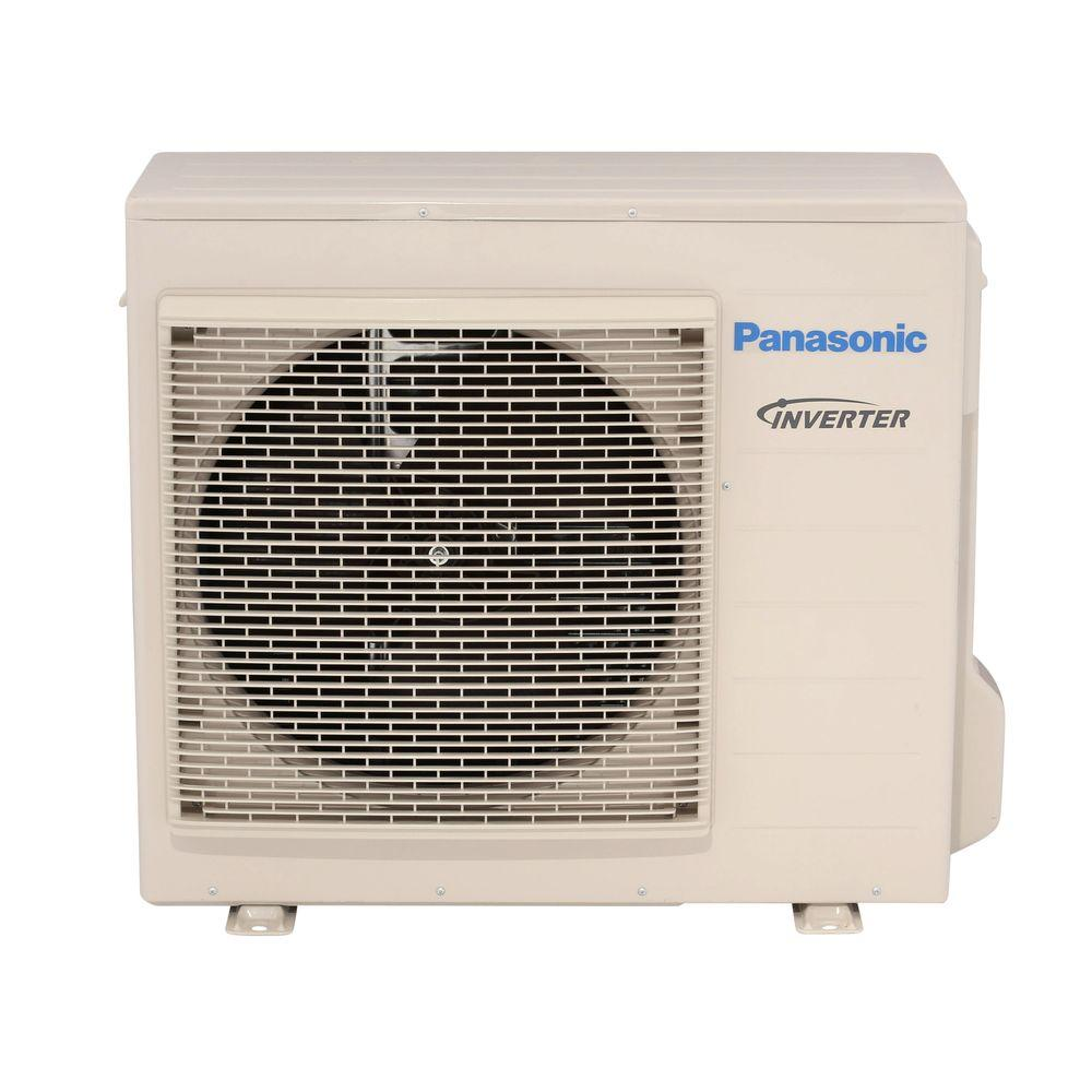 Panasonic 18 000 btu 1 5 ton ductless mini split air for 18000 btu ac heater window unit