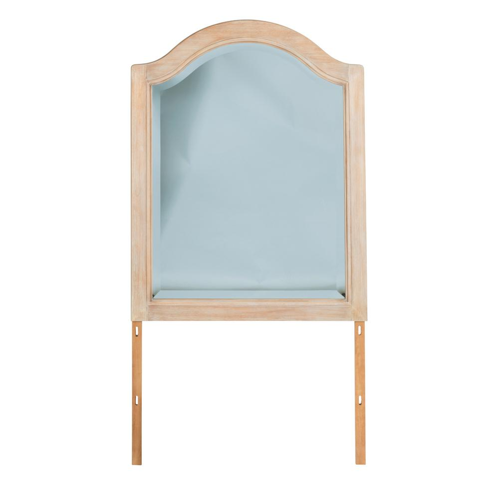 Cambridge Square White Washed Maple Decorative Mirror