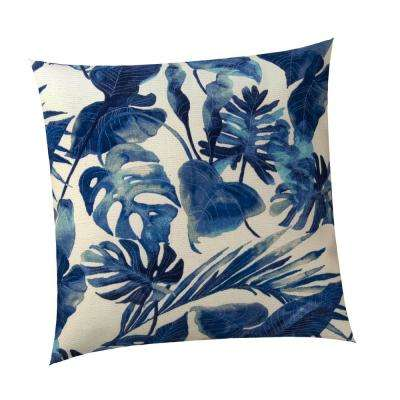 St. Thomas Outdoor Square Throw Pillow