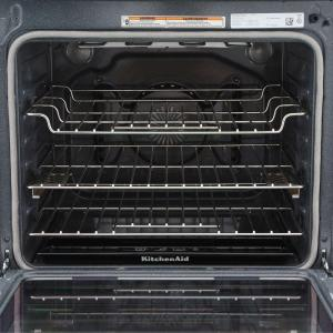Kitchenaid 6 4 Cu Ft Slide In Electric Range With Self Cleaning