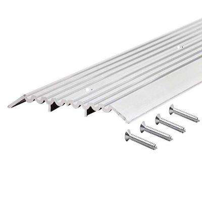 1/2 in. x 4 in. x 36 in. Fluted Top Heavy Duty Aluminum Threshold