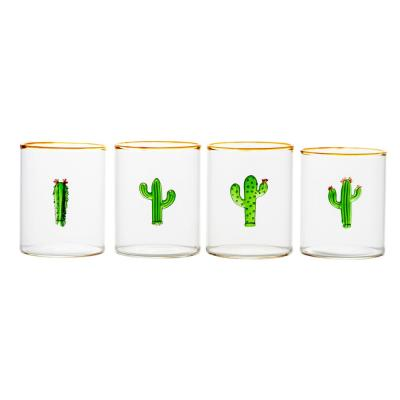 8 oz. Aztec Cactus Tumbler (Set of 4)