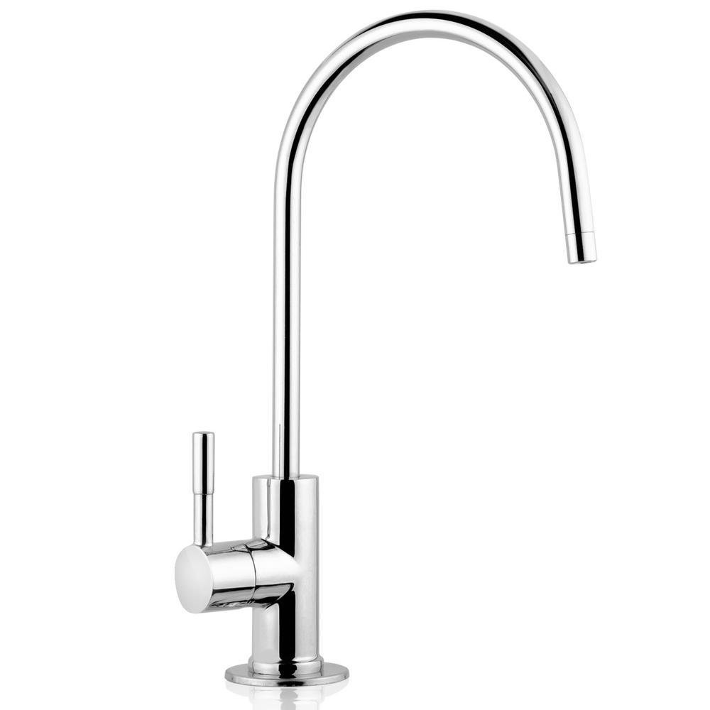 European Designer Drinking Water Faucet in Luxury Chrome