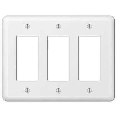 Metal 3 Rocker Switch Plates Switch Plates The Home Depot