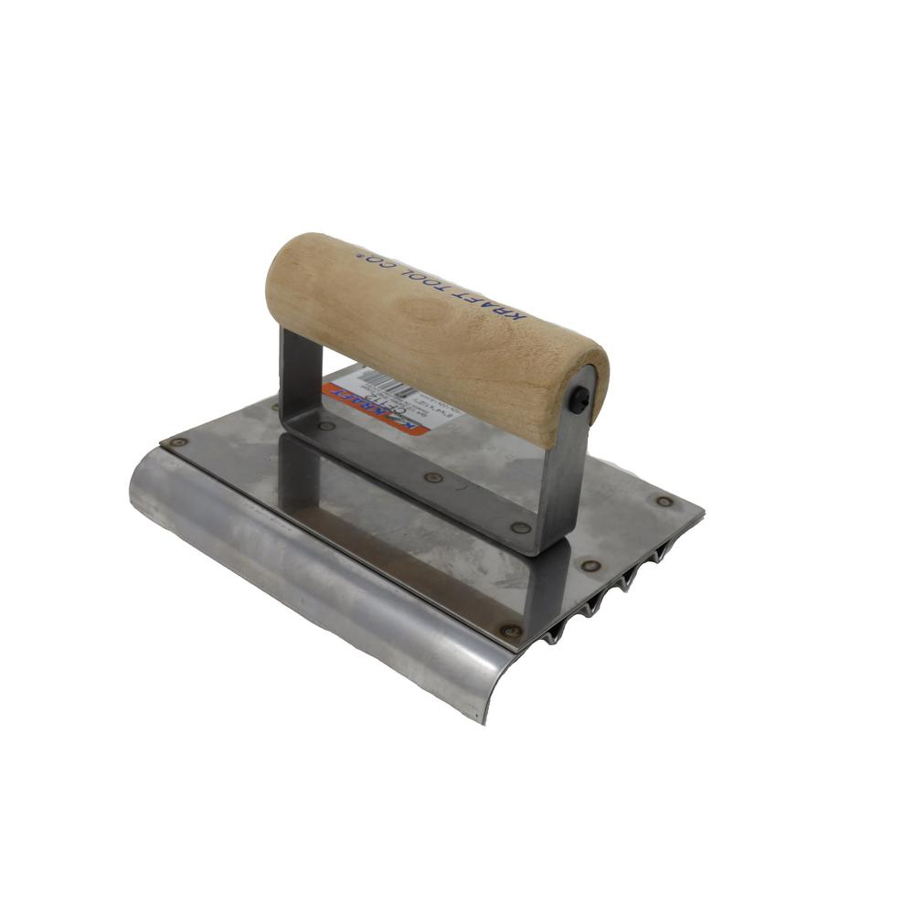 6 in. x 4 in. Safety Step Edger Groover - Wood