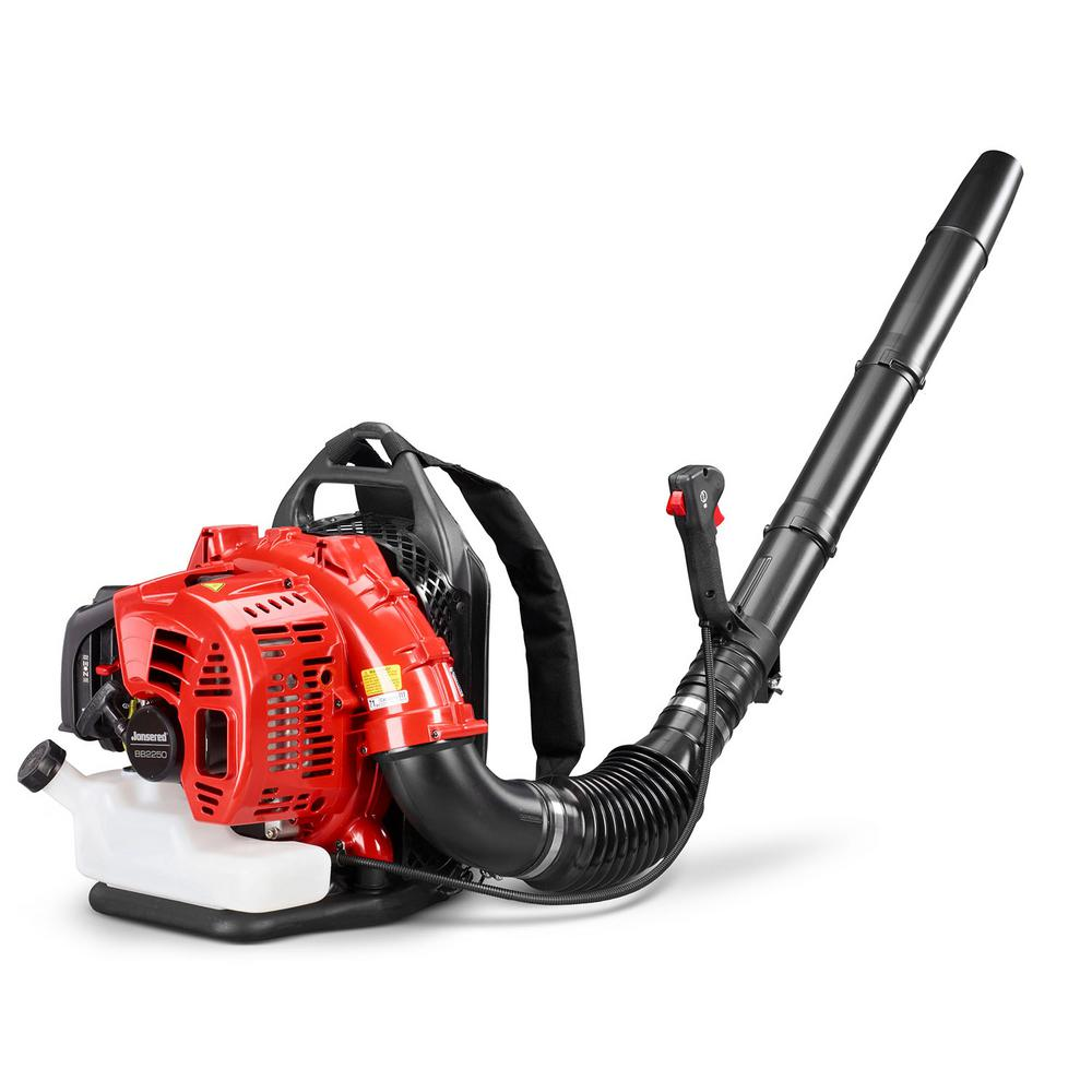 jonsered bb2250 251 mph 692 cfm 50 2cc gas backpack leaf blower
