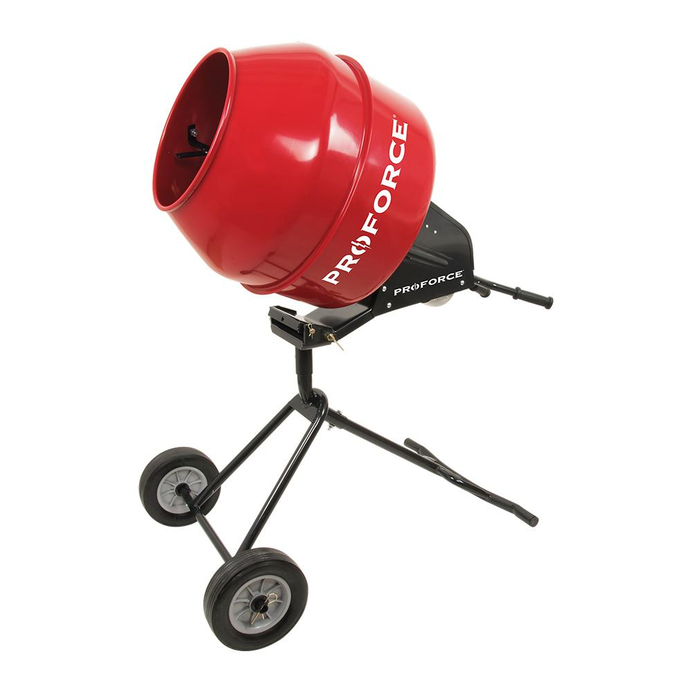 Cement Mixer Blades : Proforce cement mixer a the home depot