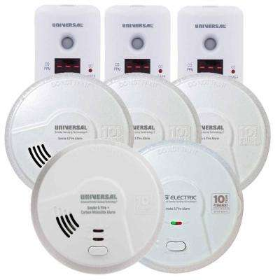 Battery Operated Combination and Smoke Alarm Homeowner Bundle (8-Pack)