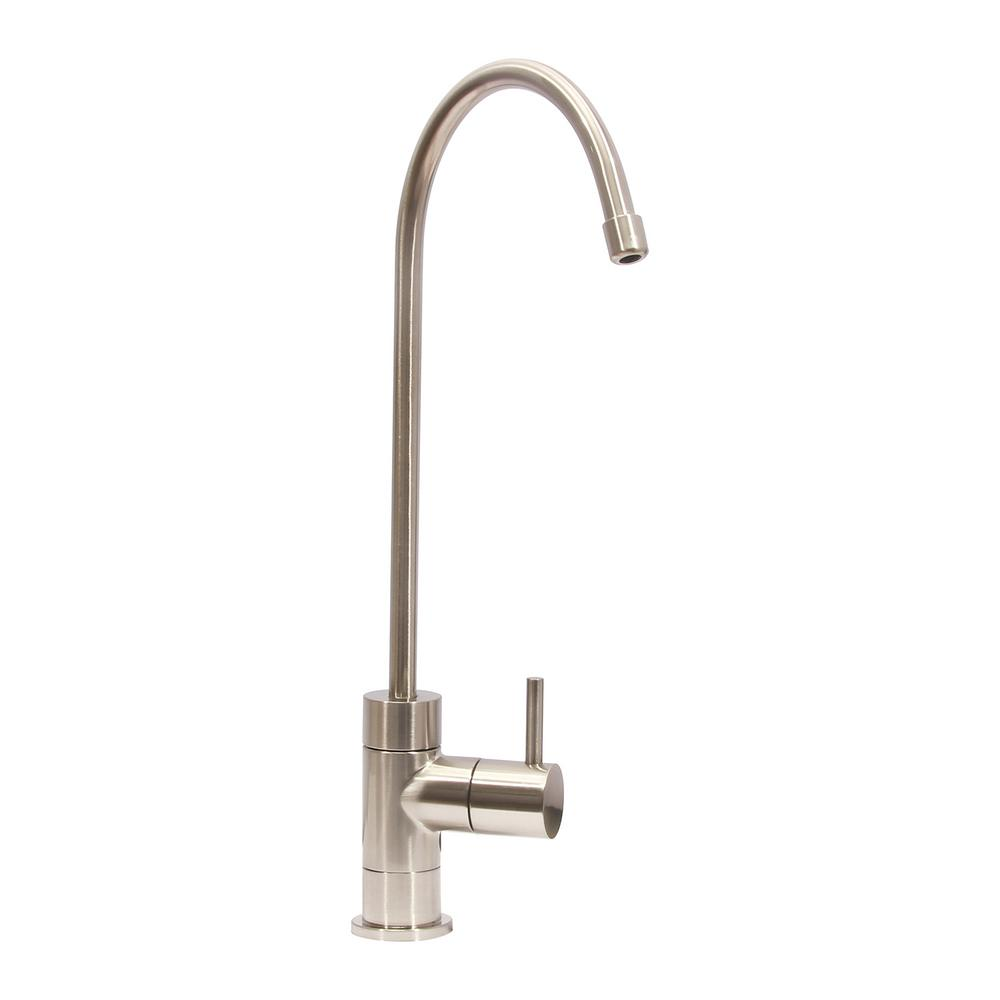 kitchen drinking water faucet single handle water filtration faucet in brushed 19473