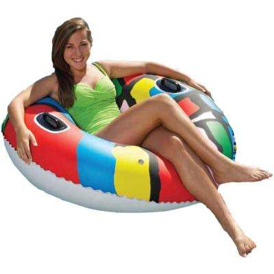 Red 46 in. Pool Sports Tube