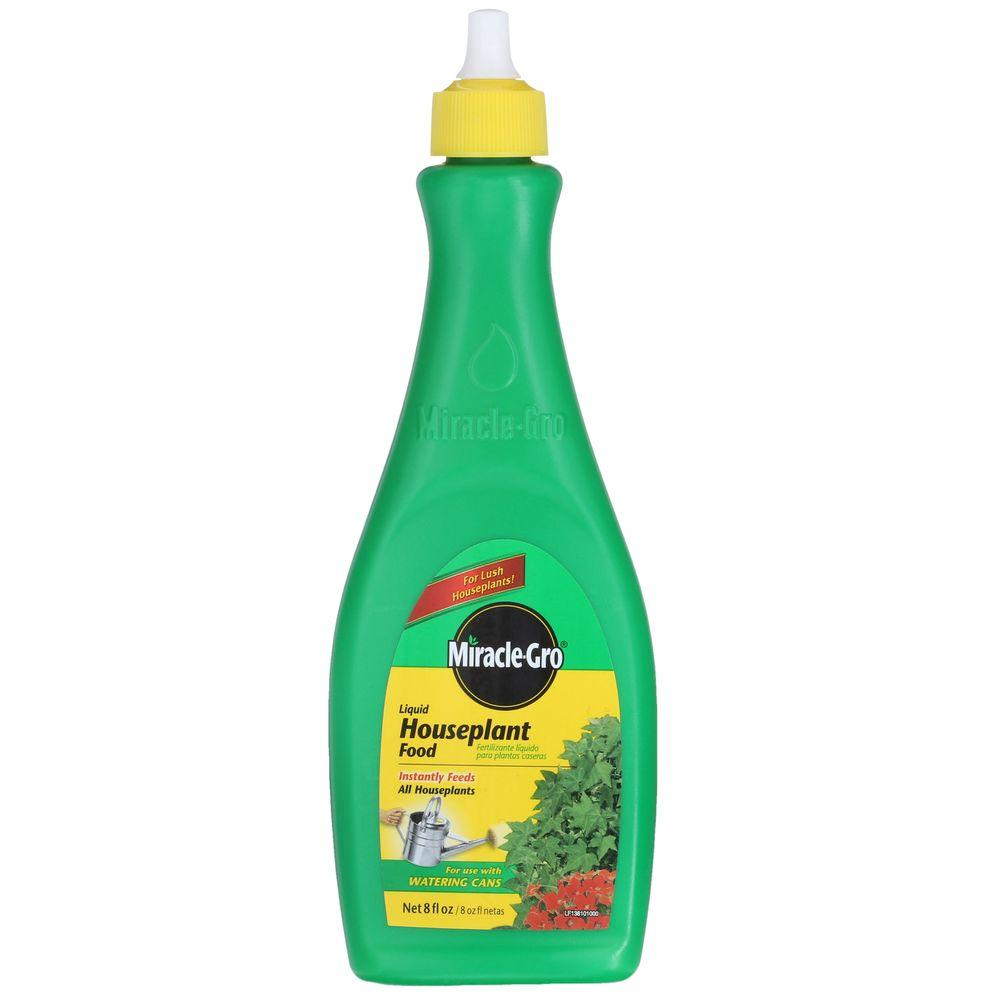 Miracle Gro 8 Oz Liquid Houseplant Food 100052 The Home Depot