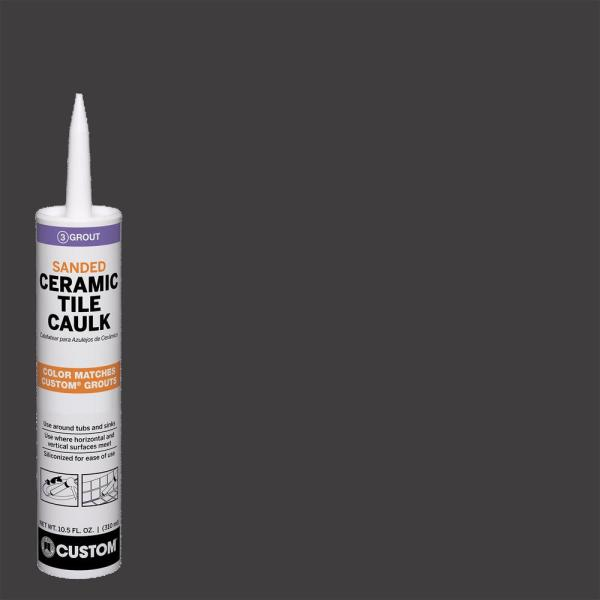 Polyblend #60 Charcoal 10.5 oz. Sanded Ceramic Tile Caulk