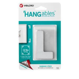 Velcro Brand Hangables Removable Wall Fasteners 3 In X 1