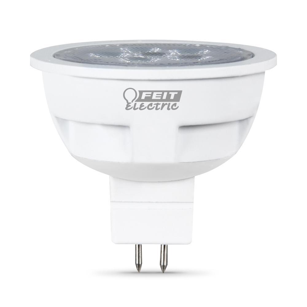 50-Watt Equivalent Bright White (3000K) MR16 GU5.3 Bi-Pin Base Landscape LED Light Bulb