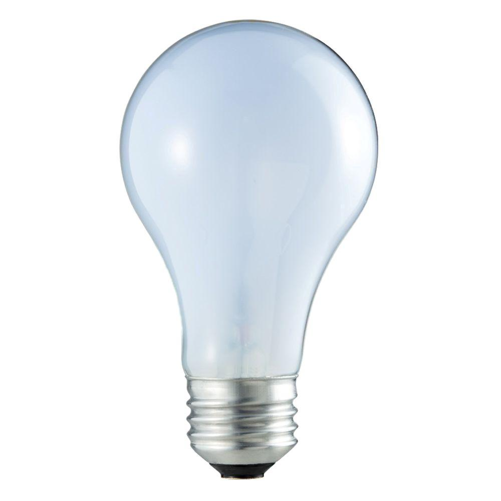 Philips 75 Watt Incandescent A19 120 130 Volt Rough Service Frosted Light Bulb 293605 0 The