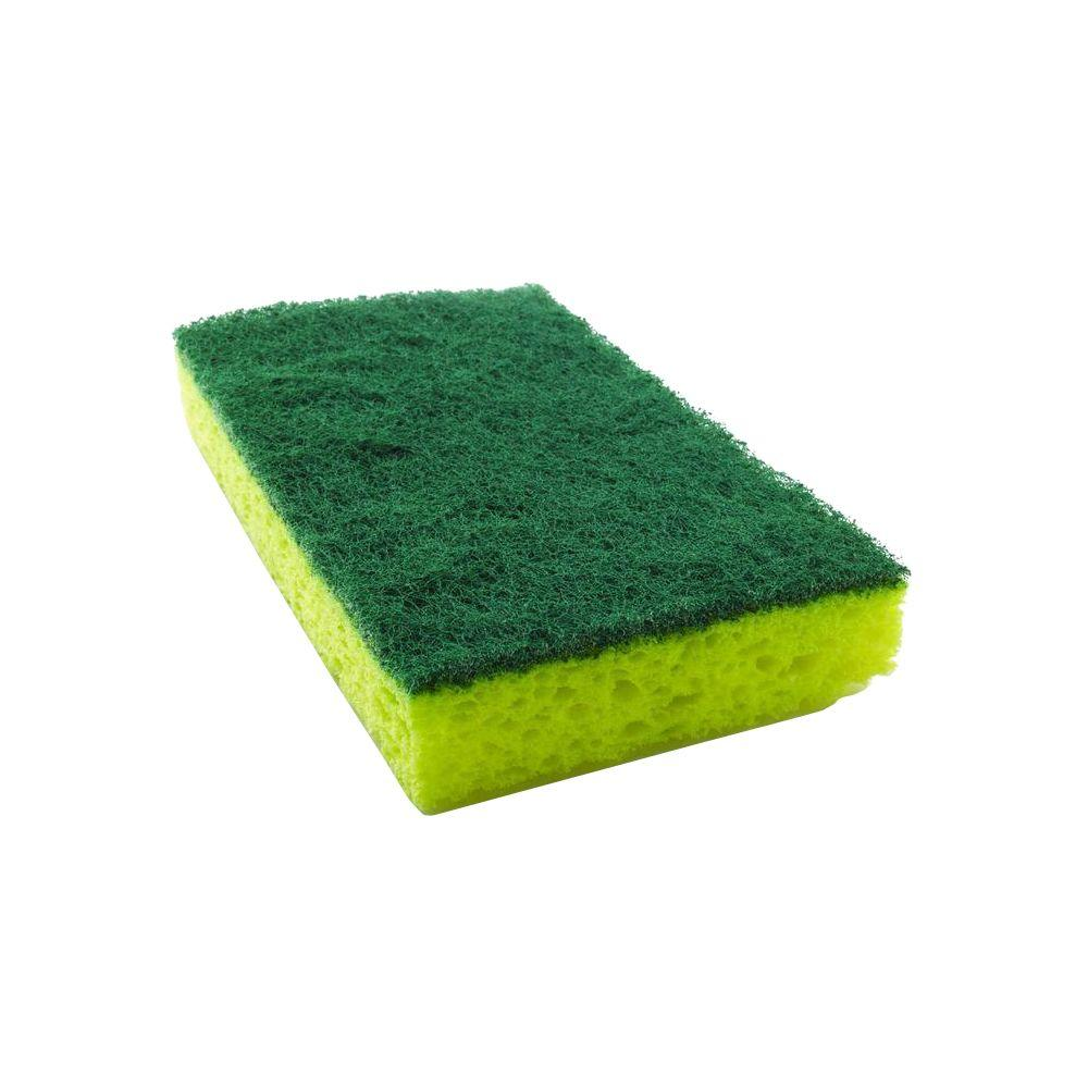 Scotch-Brite 2-3/4 in. x 4-1/2 in. Heavy-Duty Scrub Sponge (3-Pack ...