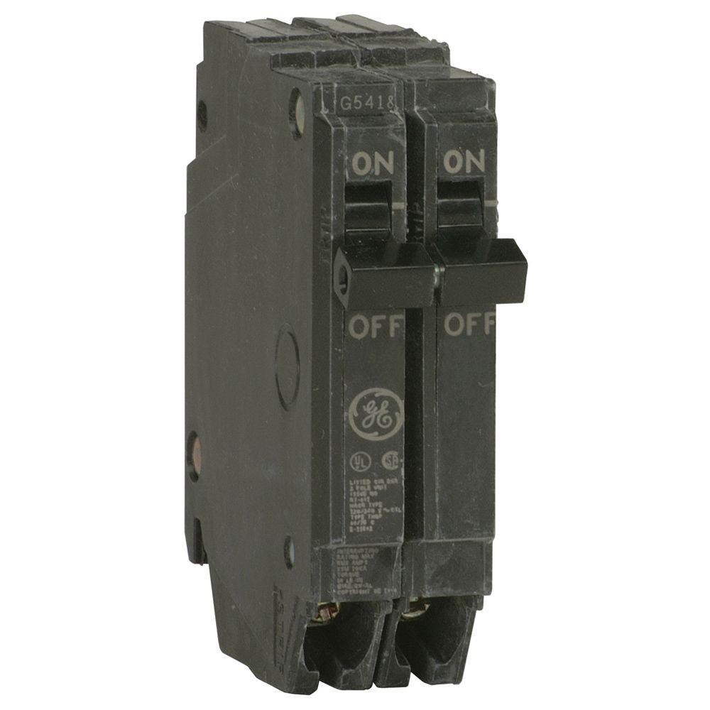 GE Q-Line 30 Amp 1 in. Double Pole Circuit Breaker