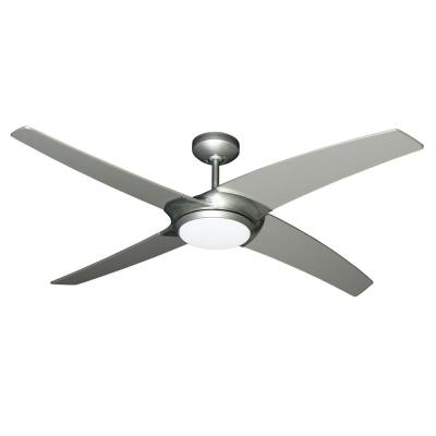 Starfire 56 in. LED Brushed Nickel Ceiling Fan with Light and Remote Control