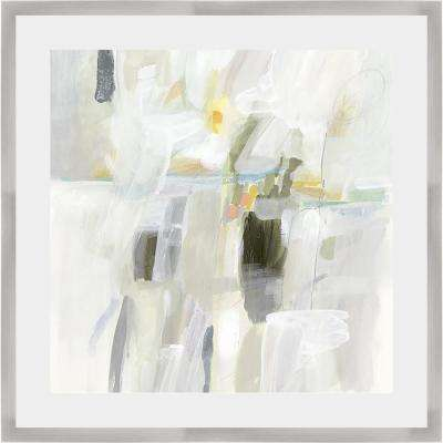 25 in. x 25 in. 'SUN DROPS I' by Victoria Borges Framed Wall Art