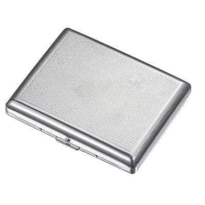 Donnie Silver Plated Cigarette Case