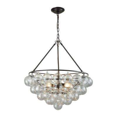 Cuvee 3-Light Oil Rubbed Bronze Small Chandelier