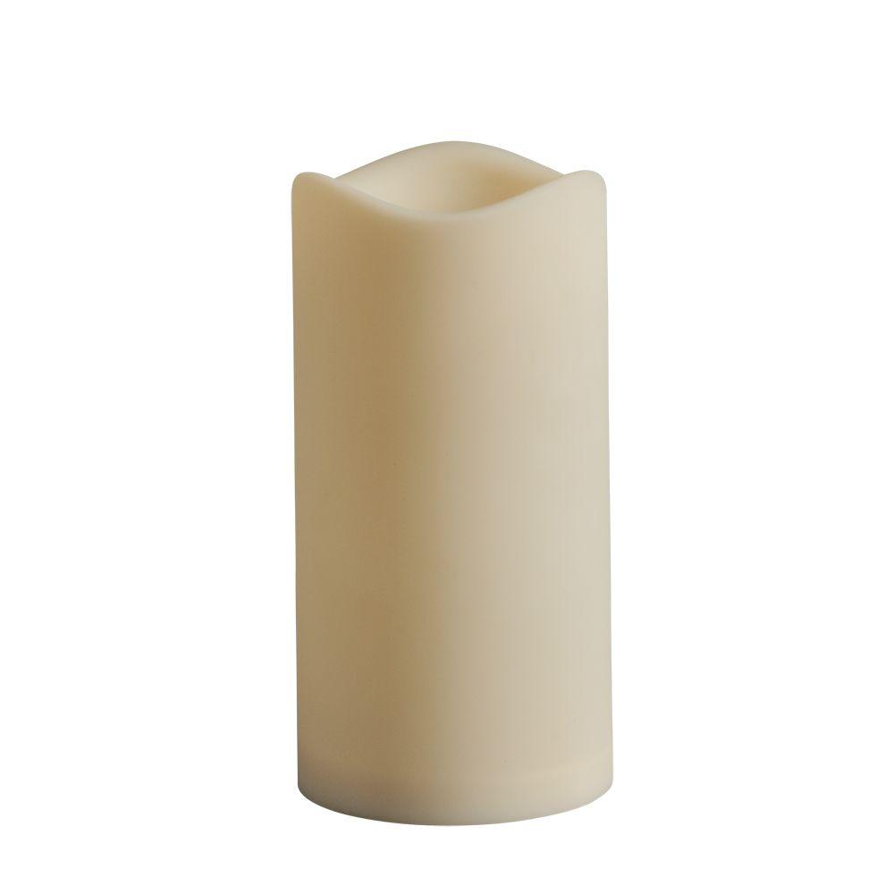 Hampton Bay 3 in. x 6 in. Indoor/Outdoor LED Candle