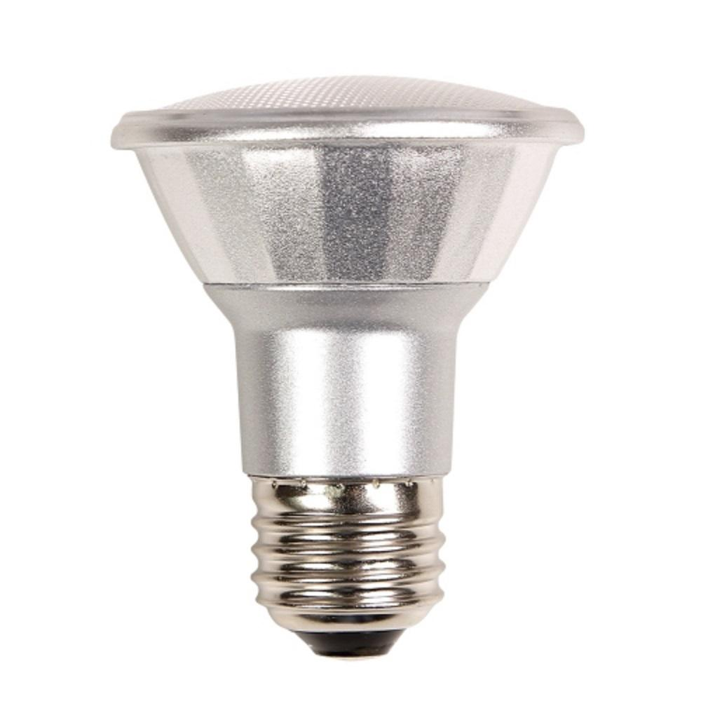50w equivalent warm white par20 dimmable led light bulb par20fl7 830 eco led the home depot. Black Bedroom Furniture Sets. Home Design Ideas