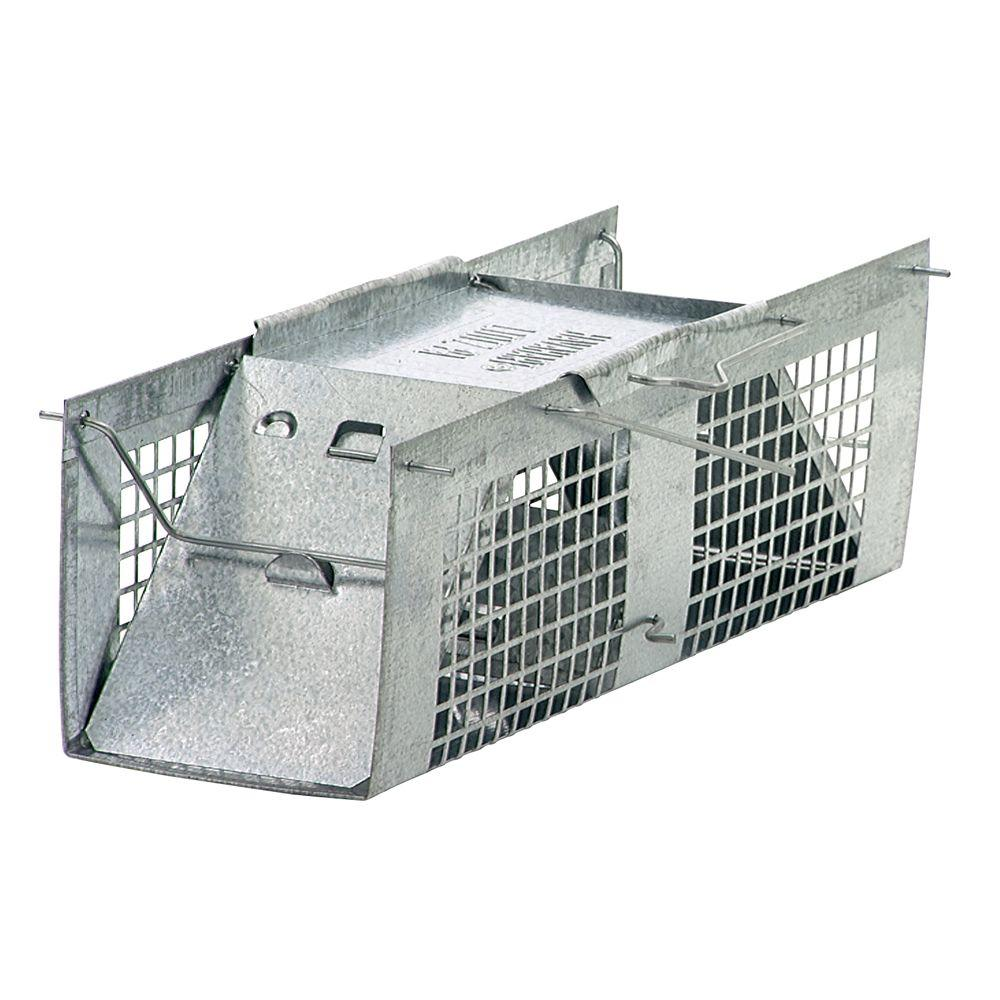 Havahart X-Small 2-Door Live Animal Cage Trap-1020 - The Home Depot