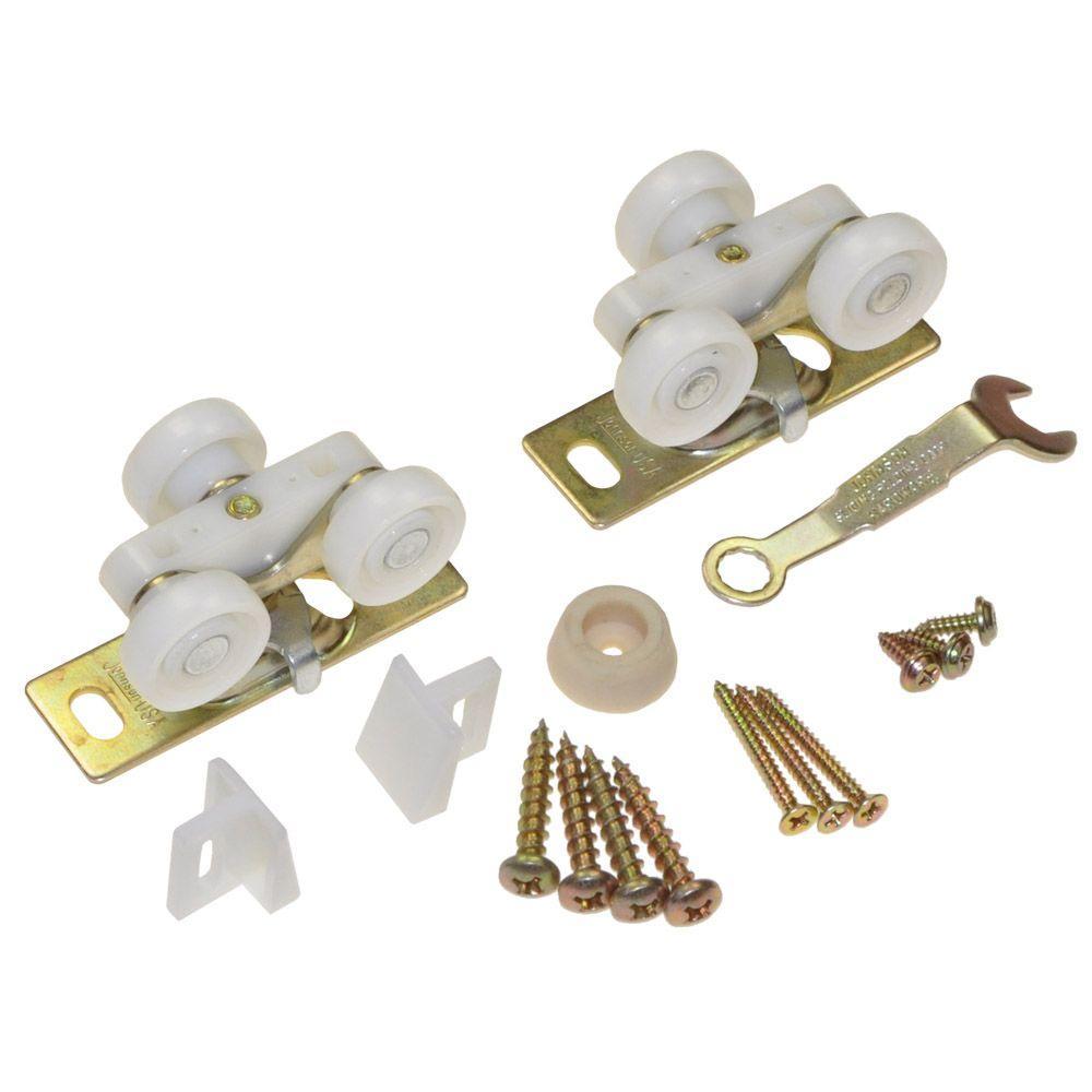 Johnson Hardware 1500 Series Plated Steel Pocket Door Replacement