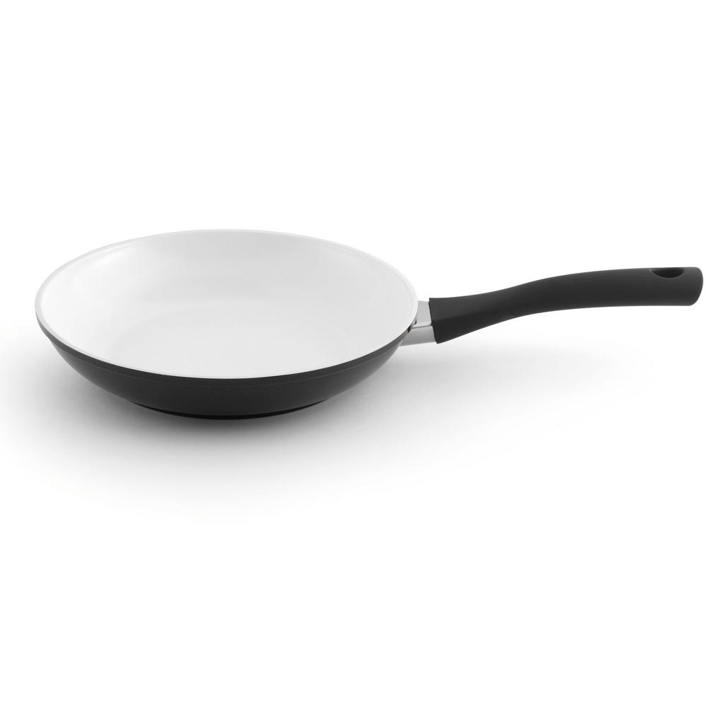 Eclipse 9.5 in. Aluminum Non-Stick Black Frying Pan
