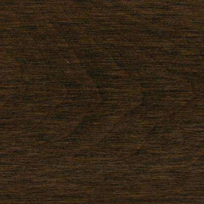 Coffee Canadian Maple Solid Hardwood Flooring - 5 in. x 7 in. Take Home Sample