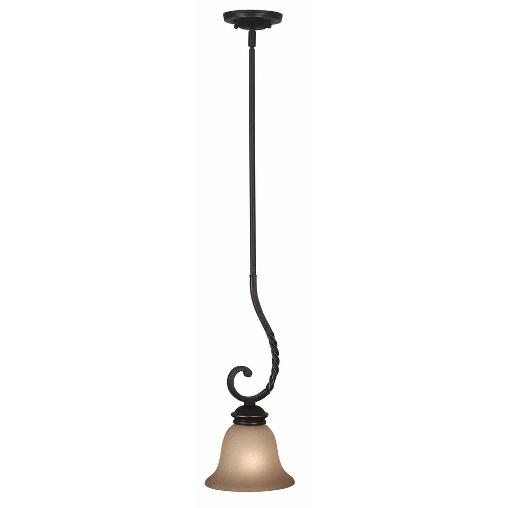 Kenroy Home Oliver 63 in. Oil Rubbed Bronze Mini Pendant-DISCONTINUED