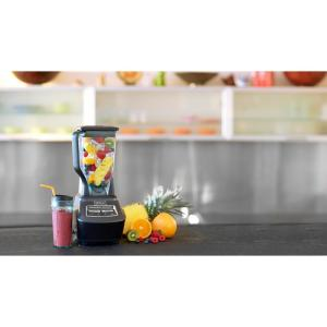 Ninja Mega Kitchen System 72 oz. 3-Speed Black Blender and ...