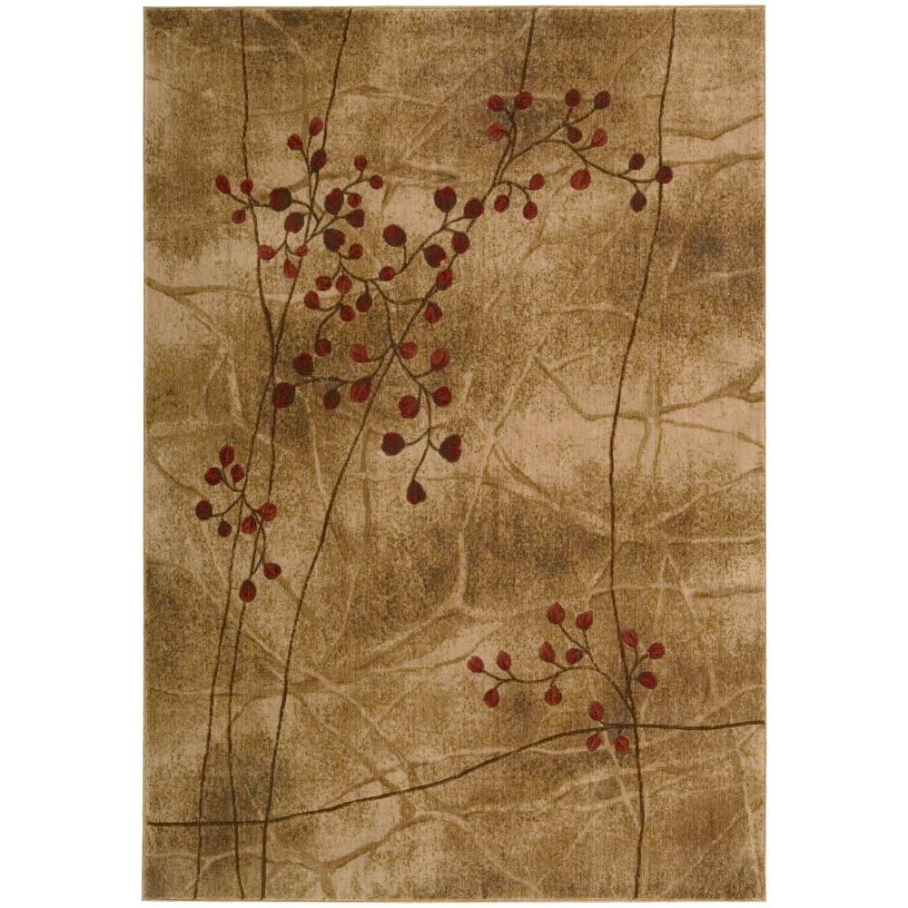 Nourison Somerset Latte 7 ft. 9 in. x 10 ft. 10 in. Area Rug