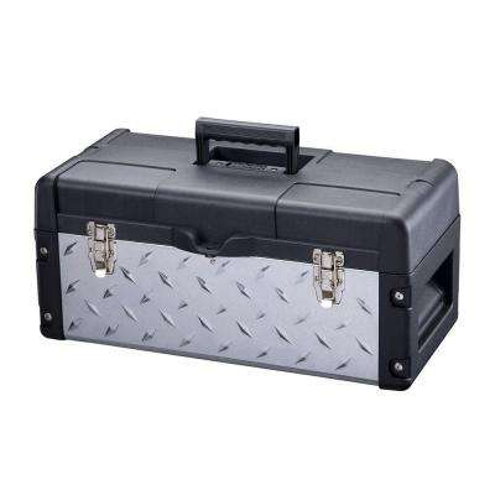 22 in. Galvanized Tool Box