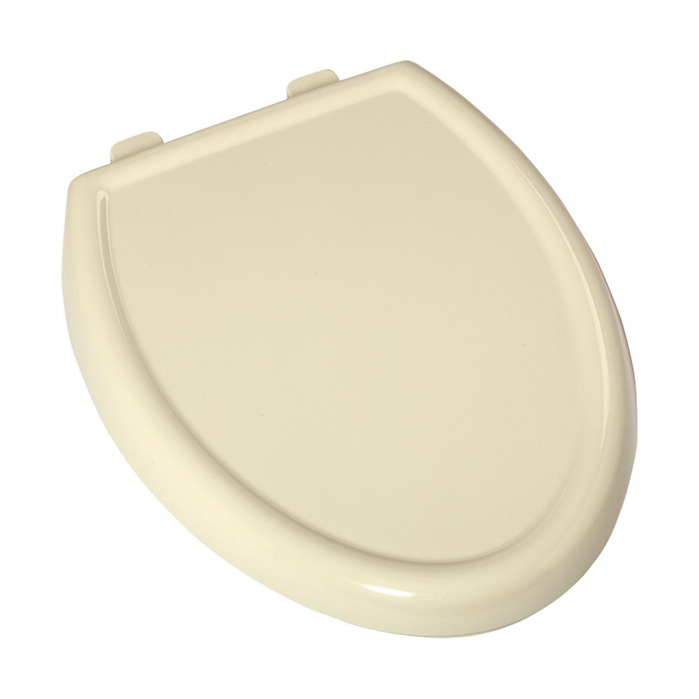 Cadet 3 Slow Close Elongated Closed Front Toilet Seat in Linen